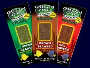 Omega Sea Super Veggie Seaweed Braun 23g