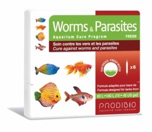 Prodibio Worms & Parasites Fresh - Süßwasser 6 Ampullen