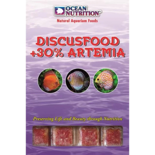 Ocean Nutrition Discusfood + 30% Artemia (20 cubes) 100g