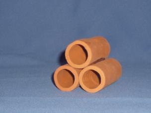 Röhrenturm 3 Röhren Terrakotta