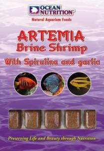 Ocean Nutrition-Artemia mit Spirulina & Knoblauch 100g Blister