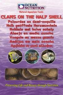 Ocean Nutrition-Halb geöffnete Muscheln 100g