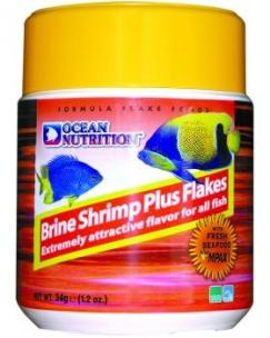 Ocean Nutrition Brine Shrimp Plus Flake 34g