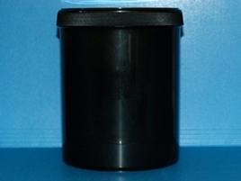 PP - Schraubdeckeldose schwarz 1000ml