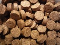 Futtertabletten braun für Welse mit Holzanteil 1000g