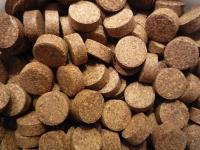 Futtertabletten braun für Welse mit Holzanteil 100g