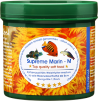 Naturefood-Supreme Marin medium (Weichfutter) (1,0mm) 60g Dose