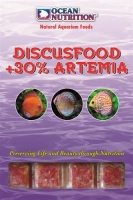 Ocean Nutrition Discusfood plus 30% Artemia Blister (20 cubes) 100g