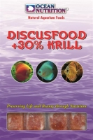 Ocean Nutrition Discusfood plus 30% Krill Blister (20 cubes) 100g